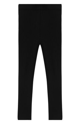 Детского брюки NORVEG черного цвета, арт. 20WKP003CN-002 | Фото 1