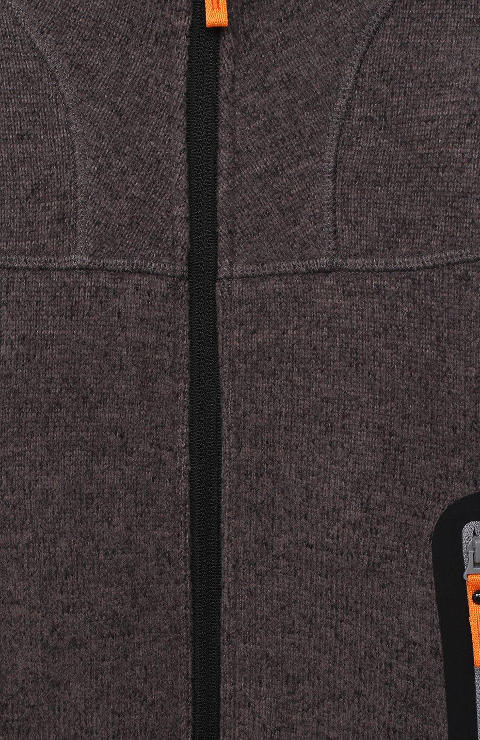 Детский толстовка NORVEG серого цвета, арт. 25FKKBS-003   Фото 3 (Рукава: Длинные; Мальчики Кросс-КТ: Толстовка-спорт; Материал внешний: Синтетический материал; Ростовка одежда: 4 года   104 см, 6 лет   116 см, 7 лет   122 см, 8 лет   128 см)