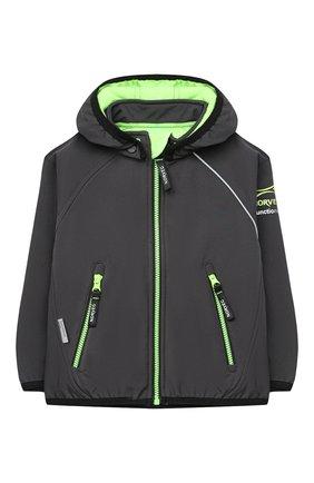 Детского куртка NORVEG серого цвета, арт. 27SSKBJ-041 | Фото 1