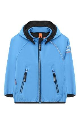 Детского куртка NORVEG синего цвета, арт. 27SSKBJ-004 | Фото 1