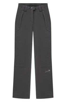 Детского брюки NORVEG серого цвета, арт. 27SSTGP-041 | Фото 1