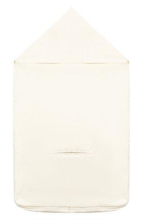 Детского комплект на выписку наполеоника CHEPE бежевого цвета, арт. 071283   Фото 8