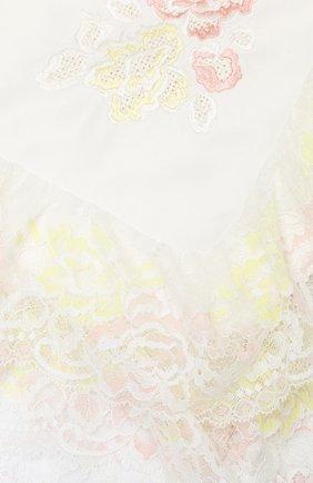 Детский плед на выписку камелия CHEPE розового цвета, арт. 071098 | Фото 2