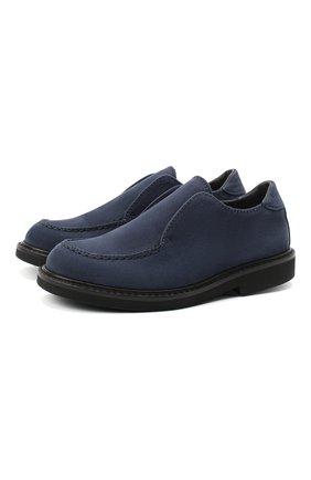 Детские кожаные туфли MONTELPARE TRADITION синего цвета, арт. MT20060/M0RBID0NE/28-35 | Фото 1