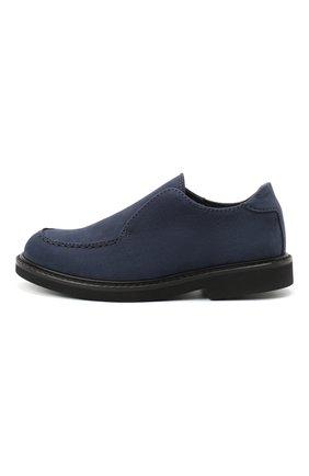 Детские кожаные туфли MONTELPARE TRADITION синего цвета, арт. MT20060/M0RBID0NE/28-35 | Фото 2
