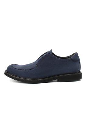 Детские кожаные туфли MONTELPARE TRADITION синего цвета, арт. MT20060/M0RBID0NE/36-41 | Фото 2