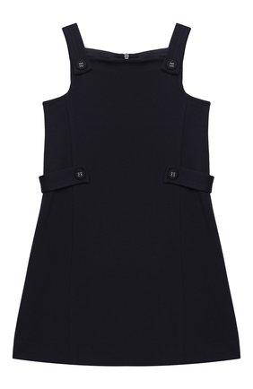 Детское платье DAL LAGO синего цвета, арт. R277/8111/7-12 | Фото 1