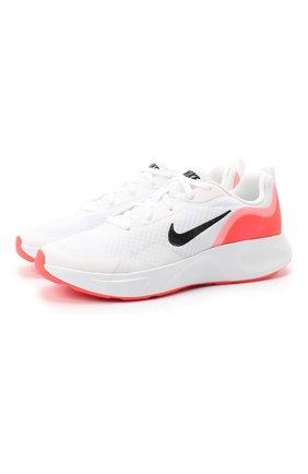 Детские кроссовки nike wearallday NIKE белого цвета, арт. CJ3816-100 | Фото 1