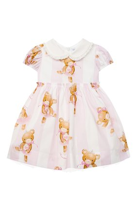 Женский платье MONNALISA белого цвета, арт. 316909 | Фото 1