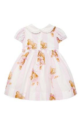 Женский платье MONNALISA белого цвета, арт. 316909 | Фото 2