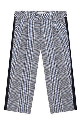 Детского брюки MONNALISA синего цвета, арт. 116404 | Фото 1