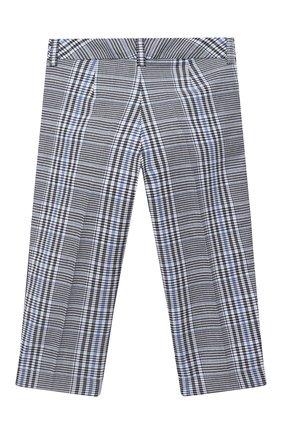 Детского брюки MONNALISA синего цвета, арт. 116404 | Фото 2