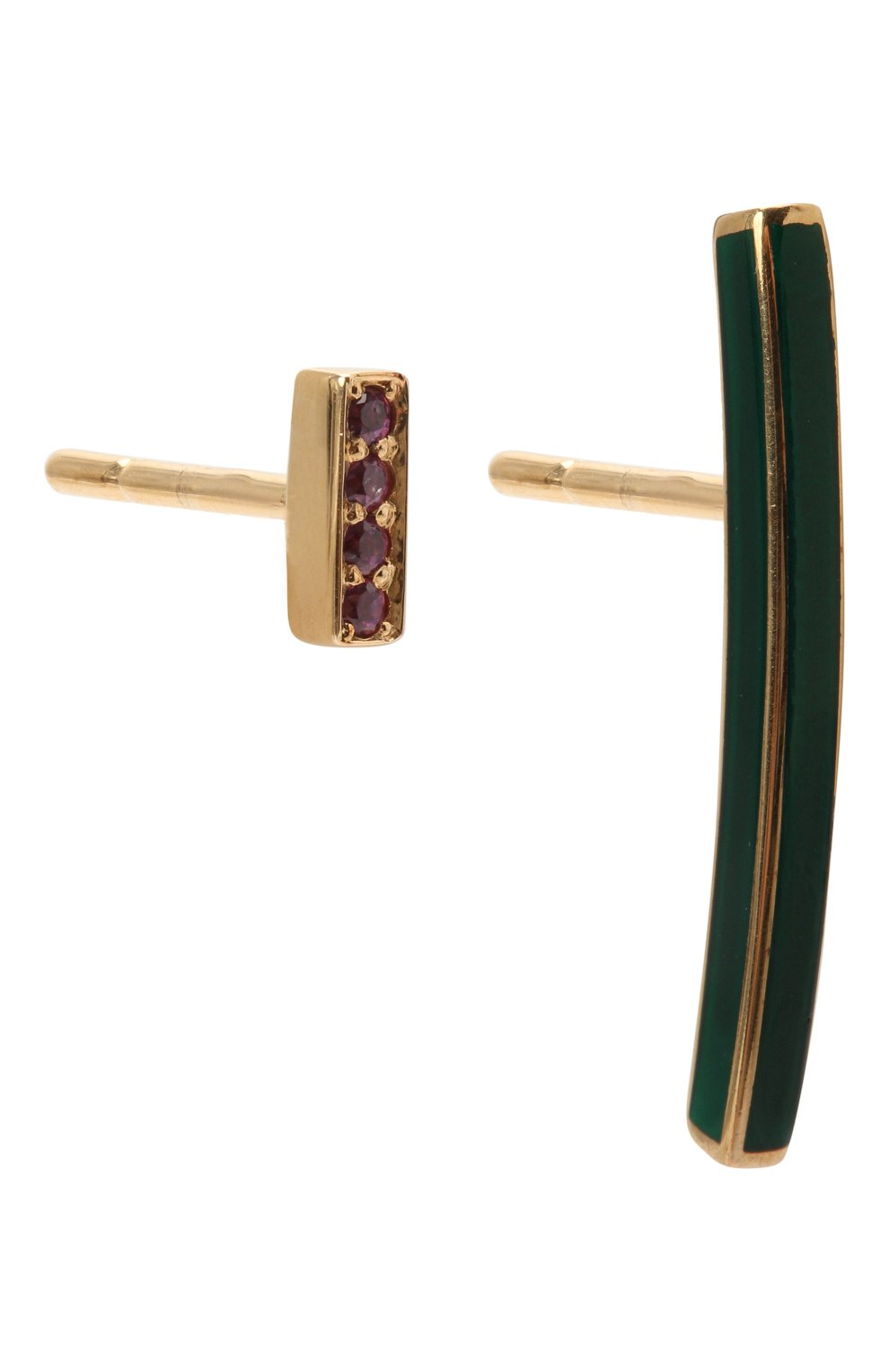 Женские серьги JEWLIA золотого цвета, арт. 0202.JR-63р | Фото 3