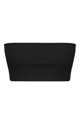 Женский топ из вискозы BALMAIN черного цвета, арт. UF10975/K050 | Фото 1