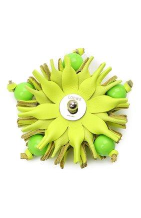 Женские украшение для сумки LOEWE желтого цвета, арт. N691160X04   Фото 2