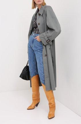 Женские кожаные сапоги lenskee ISABEL MARANT коричневого цвета, арт. LENSKEE/BT0042-20A008S   Фото 2