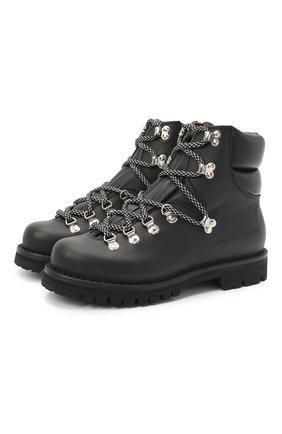 Женские кожаные ботинки PROENZA SCHOULER черного цвета, арт. PS35083A/12112 | Фото 1