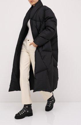 Женский пуховик KHRISJOY черного цвета, арт. AFMW010/NY | Фото 2
