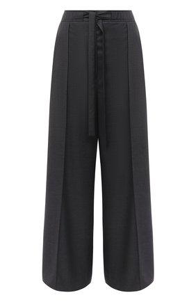 Женские шерстяные брюки LOEWE серого цвета, арт. S359331XAV | Фото 1