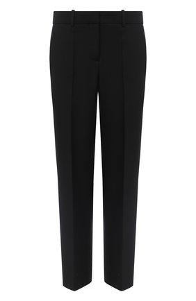Женские шерстяные брюки LOEWE черного цвета, арт. S359331XAQ | Фото 1