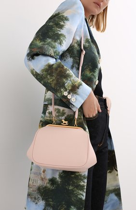 Женская сумка ULYANA SERGEENKO светло-розового цвета, арт. BRS014CLASSX (0421с) | Фото 2