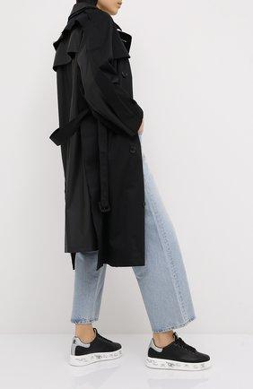 Женские комбинированные кеды belle PREMIATA черного цвета, арт. BELLE/VAR4904 | Фото 2