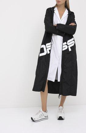 Женские кожаные кроссовки beth PREMIATA белого цвета, арт. BETH/VAR4840 | Фото 2