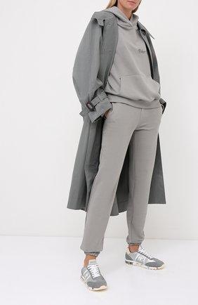 Женские комбинированные кроссовки lucy PREMIATA серебряного цвета, арт. LUCY-D/VAR4803 | Фото 2