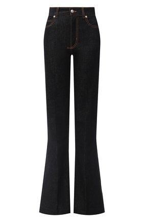 Женские джинсы ALEXANDER MCQUEEN черного цвета, арт. 628062/QMAA3 | Фото 1