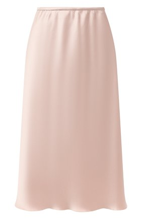Женская юбка NANUSHKA бежевого цвета, арт. ZARINA_HIMALAYAN SALT_SLIP SATIN   Фото 1