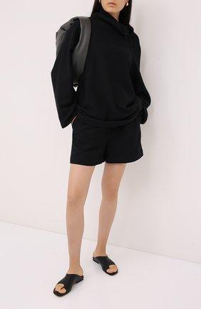 Женский хлопковый костюм RUBAN черного цвета, арт. RPW20/21-78.45.2 | Фото 1