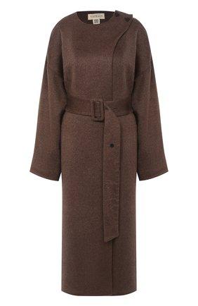 Женское пальто с поясом RUBAN коричневого цвета, арт. RPW20/21-1.1.310.16 | Фото 1