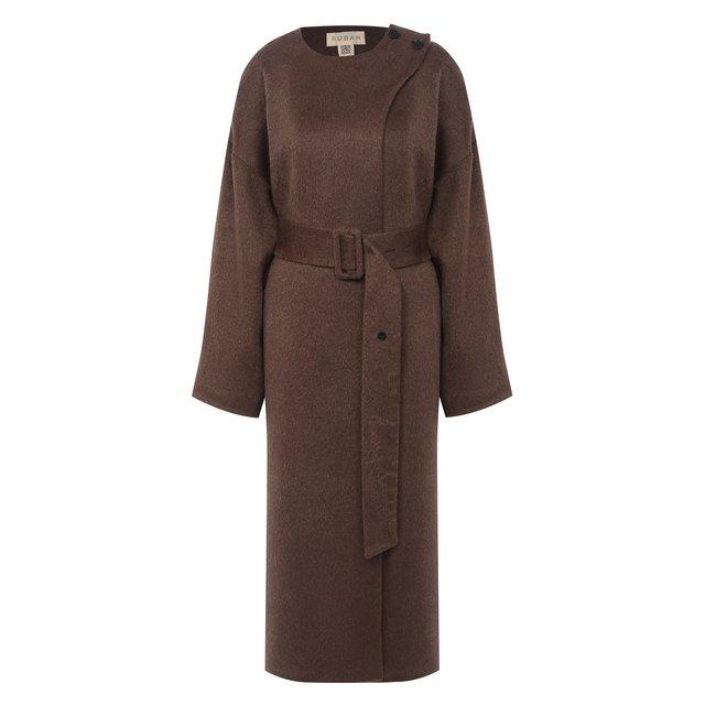 Пальто с поясом Ruban