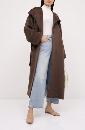 Женское пальто с поясом RUBAN коричневого цвета, арт. RPW20/21-1.1.310.16 | Фото 2
