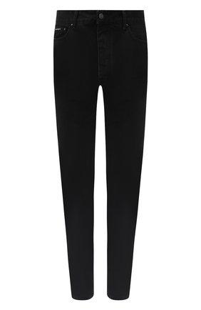 Мужские джинсы PALM ANGELS черного цвета, арт. PMYA012E20DEN0021001 | Фото 1