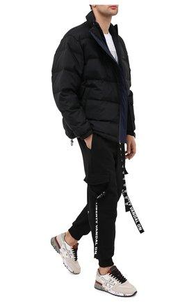 Мужские комбинированные кроссовки mick PREMIATA светло-бежевого цвета, арт. MICK/VAR4955 | Фото 2