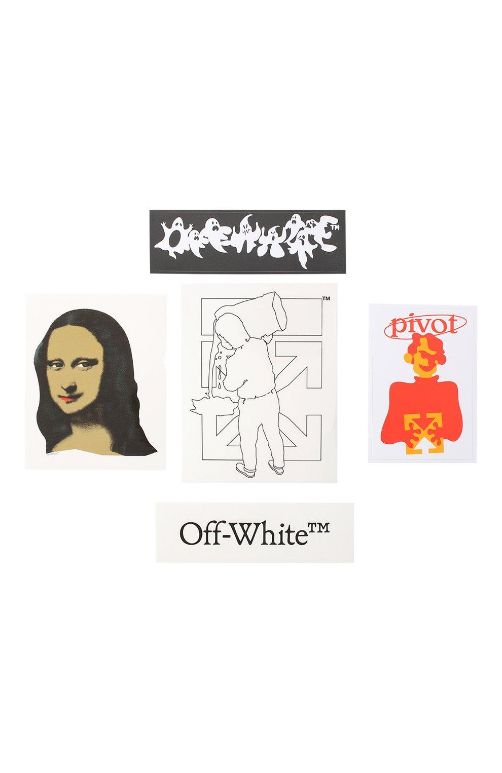 Мужская набор наклеек OFF-WHITE разноцветного цвета, арт. 0MZG034E20MAT0021001 | Фото 1