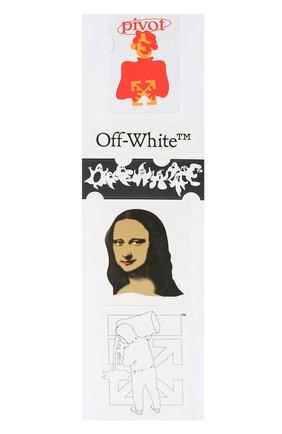 Мужская набор наклеек OFF-WHITE разноцветного цвета, арт. 0MZG034E20MAT0021001 | Фото 2