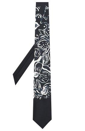 Мужской шелковый галстук OFF-WHITE темно-синего цвета, арт. 0MMD006E20FAB0014501 | Фото 2