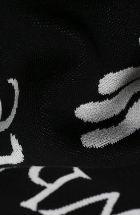 Мужской шарф OFF-WHITE черно-белого цвета, арт. 0MMA001E20KNI0021001 | Фото 2