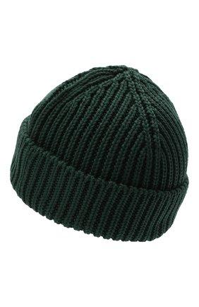 Мужская шерстяная шапка OFF-WHITE зеленого цвета, арт. 0MLC001E20KNI0015700 | Фото 2