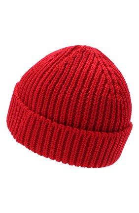 Мужская шерстяная шапка OFF-WHITE красного цвета, арт. 0MLC001E20KNI0012500 | Фото 2