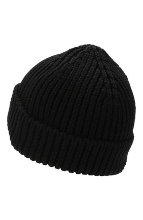 Мужская шерстяная шапка OFF-WHITE черного цвета, арт. 0MLC001E20KNI0011000 | Фото 2