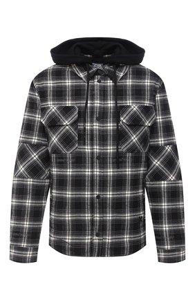 Мужская куртка OFF-WHITE черно-белого цвета, арт. 0MEA236E20FAB0011000 | Фото 1