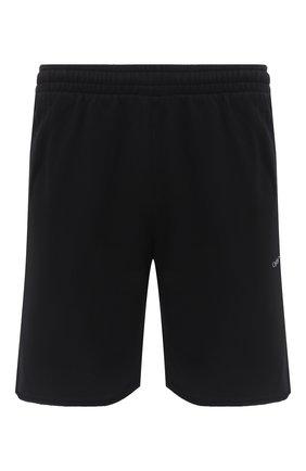 Мужские хлопковые шорты OFF-WHITE черного цвета, арт. 0MCI006E20FLE0011001 | Фото 1