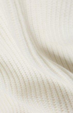 Мужской кашемировый шарф JOHNSTONS OF ELGIN кремвого цвета, арт. HAA01684 | Фото 2