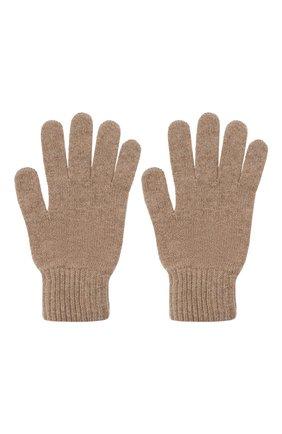 Мужские кашемировые перчатки JOHNSTONS OF ELGIN темно-бежевого цвета, арт. HAY01001 | Фото 2