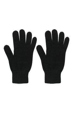 Мужские кашемировые перчатки JOHNSTONS OF ELGIN черного цвета, арт. HAY01001 | Фото 2