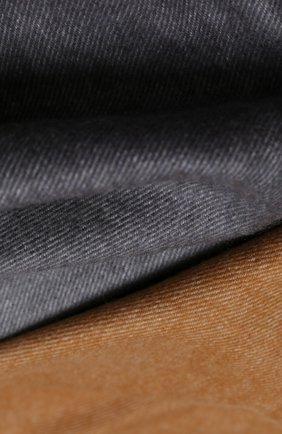 Мужской кашемировый шарф JOHNSTONS OF ELGIN бежевого цвета, арт. WA000057 | Фото 2