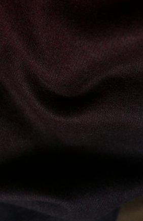 Мужской кашемировый шарф JOHNSTONS OF ELGIN темно-зеленого цвета, арт. WA000057 | Фото 2